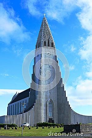 Chuch in reykjavik