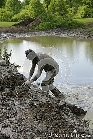 Free Chuggars Mud Stock Stock Image - 5450111