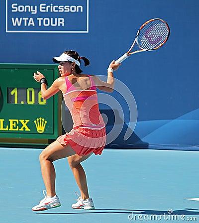 Chun-Mei Ji (CHN), tennis player Editorial Photo