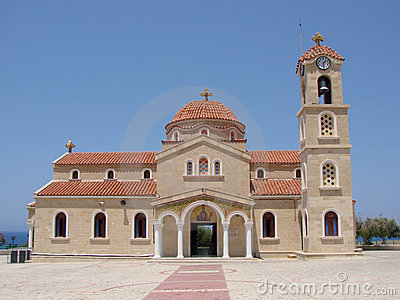 Church Agios Raphael Cyprus