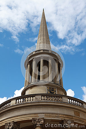 The Church of All Souls Langham Place in London.