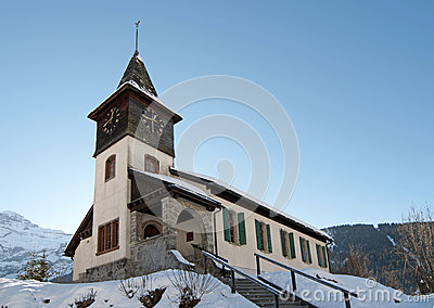 Church in the Alps