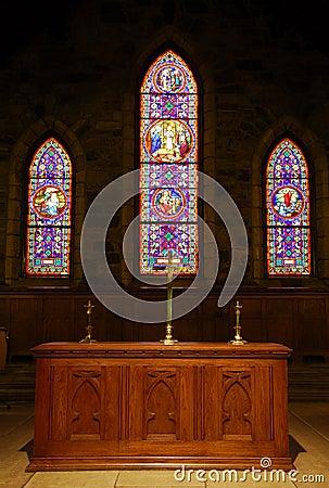 Free Church Alter Stock Image - 2219131