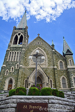 Free Church And Sky Stock Photography - 1723972