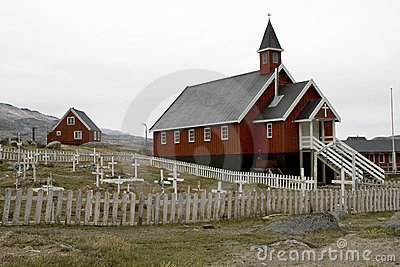 Church in Appilatoq, Greenland