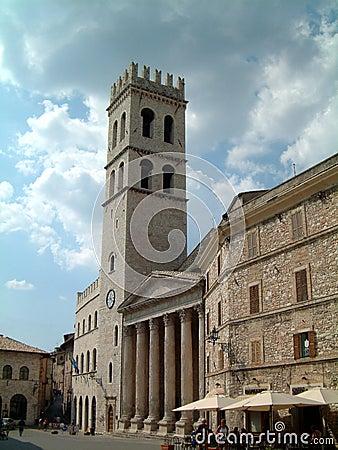 Free Church At Assisi Royalty Free Stock Photo - 394035