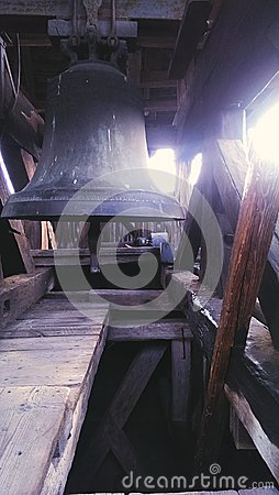Free Church Bell Tower In Calnic Stock Photography - 42032222