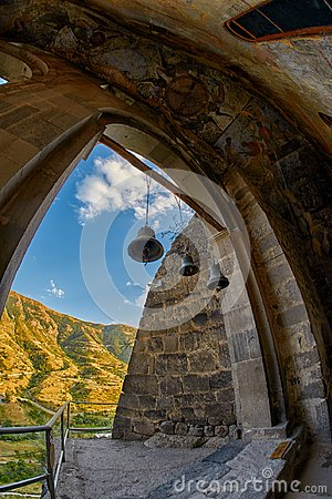 Free Church Bells In Cave Monastery Royalty Free Stock Image - 104363116