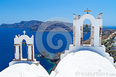 Church bells on Santorini