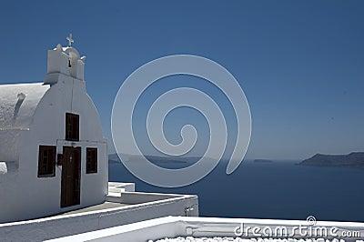 Church bells on Santorini island