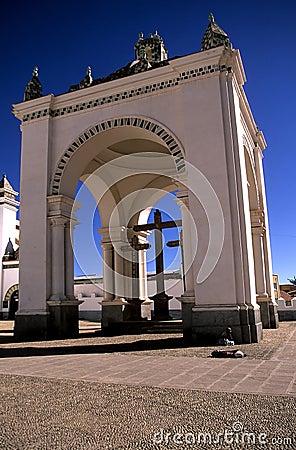 Free Church- Bolivia Royalty Free Stock Photo - 1282235