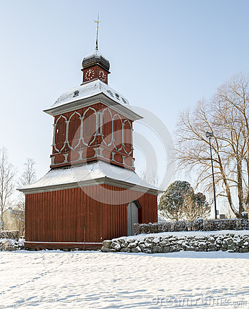 Free Church Building In Nordmaling, Sweden Stock Photography - 66219402
