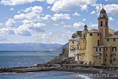 Church of camogli