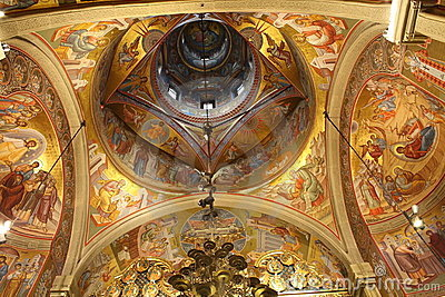 Church ceiling - paintings