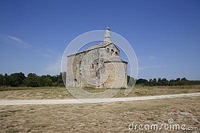 Church: Chapel St Laurent, Beaucaire - France