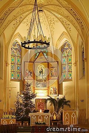 Church at Christmas