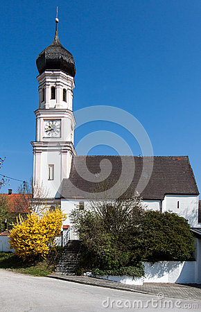 Church with Clock Tower Germany