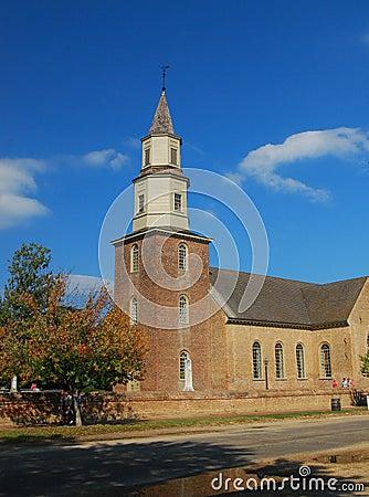 Church, Colonial Williamsburg
