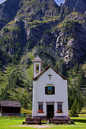 Church of Crampiolo Alpe Devero