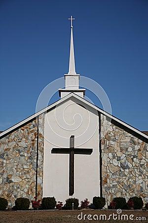 Free Church Cross Stock Photography - 7336972