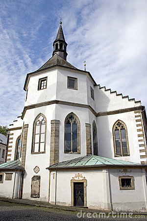 The Church of the Czech Kamenice.