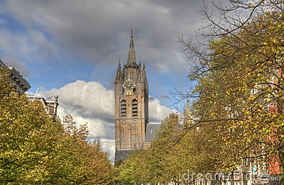 Church of Delft, Holland