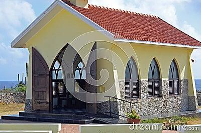 Church on a desert island
