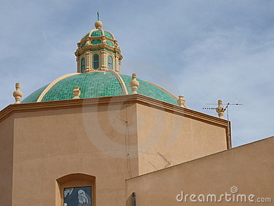 Church dome in Marsala.