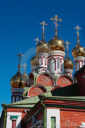 Free Church Domes-03 Stock Photography - 460622