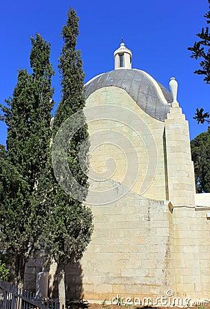 Church of Dominus Flevit in Jerusalem