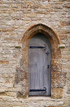 Church door from Cotswolds