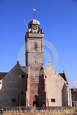 Church dutch city katwijk