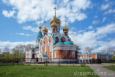 Church of Elijah the Prophet in Komsomolsk-on-Amur