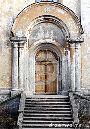 Free Church Entrance Stock Photos - 7590643