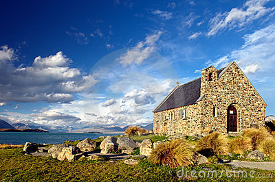 Church of the Good Sheperd, Lake Tekapo