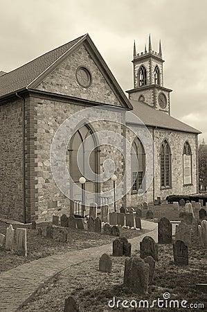 Free Church Graveyard Stock Photography - 4973272