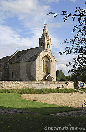Church at Great Chalfield. Wiltshire.UK