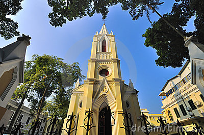 Church  in Guangzhou,China