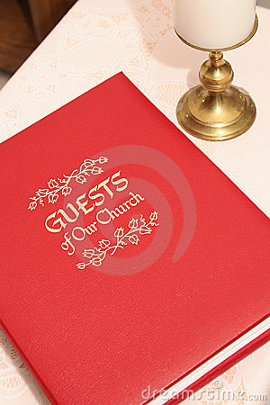 Free Church Guest Book 2 Stock Photo - 229200