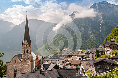Church in Hallstatt