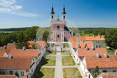 Church and hermitages