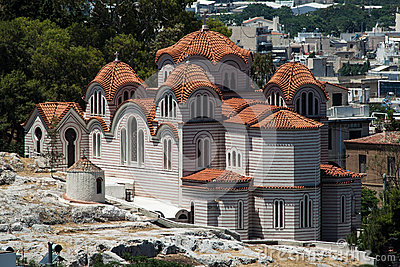 Church of the Holy Apostles Athens Greece