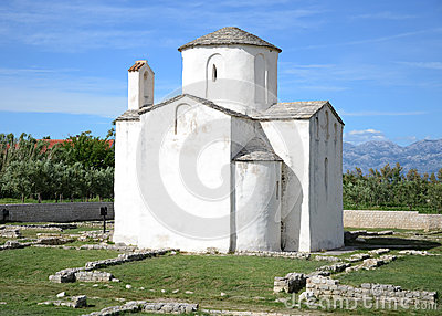 Church of the Holy Cross from the 9th century, Nin