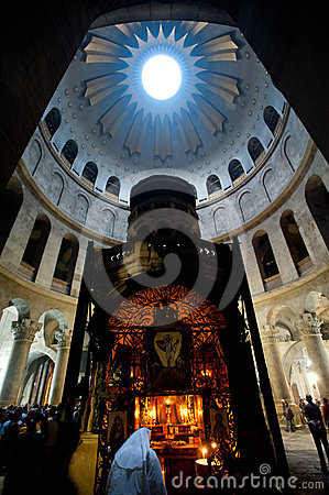 Church of the Holy Sepulchre Editorial Image