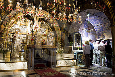 Church of the Holy Sepulchre, Jerusalem Editorial Photo
