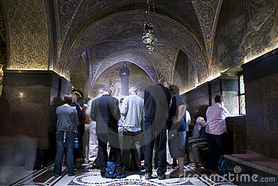 Church of the Holy Sepulchre, Jerusalem Editorial Stock Photo