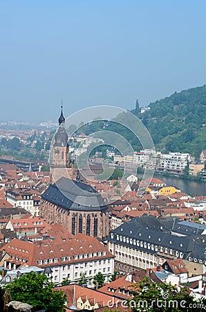 Church of holy spirit in Heidelberg