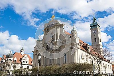 Church of Holy Spirit in Munich