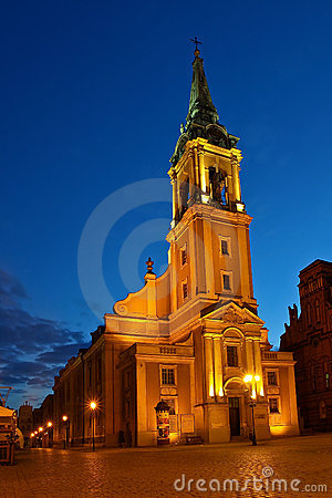 Church Holy Spirit in Torun