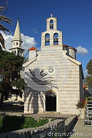 Church of Holy Trinity in Budva